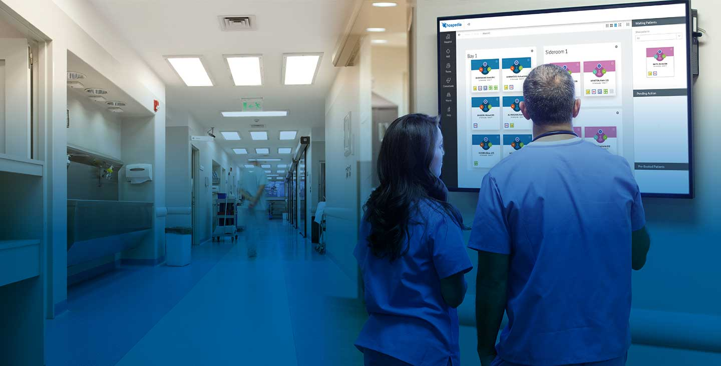Patient Flow solution for the NHS