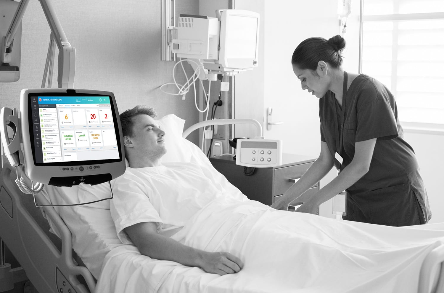 Digital transformation at the point of care - helping patients, frontline staff and NHS Trusts