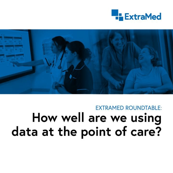 What do NHS professionals think about the use of data and digital in healthcare?