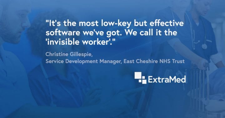 Why ExtraMed is the invisible worker. How Patient Flow at East Cheshire NHS Trust is helping reduce readmissions